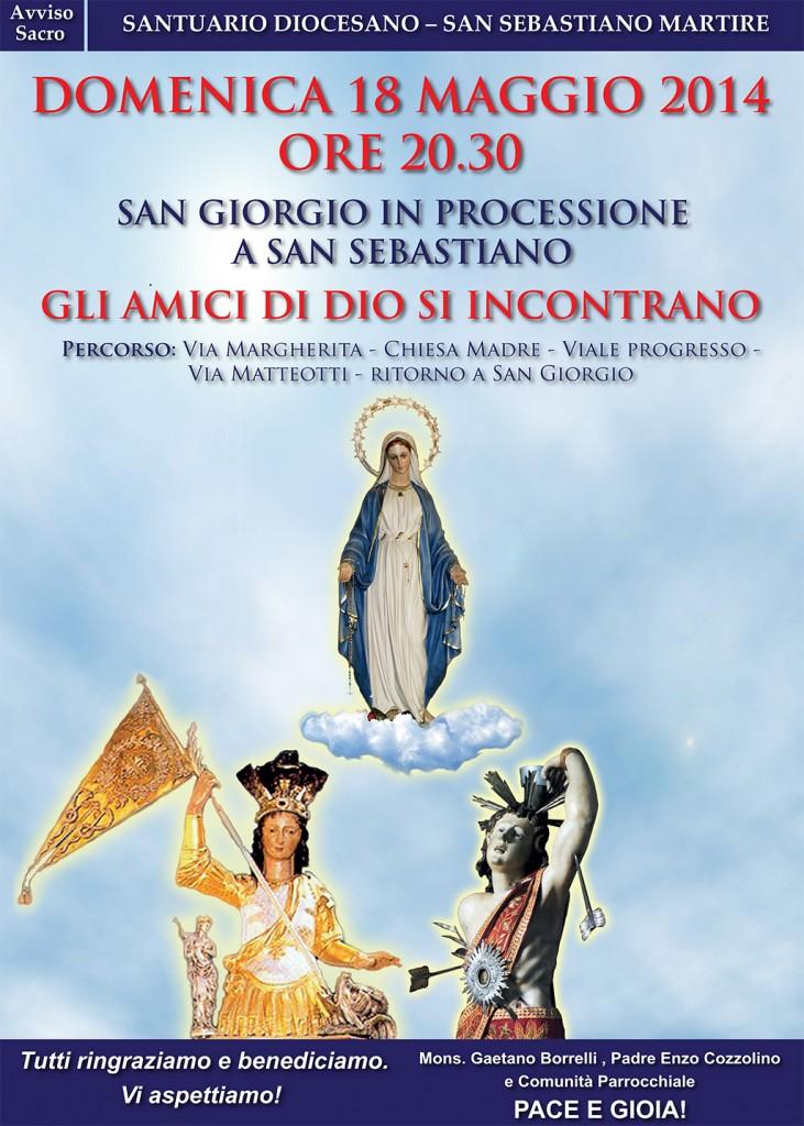 Manifesto-San-Giorgio-e-San-Sebastiano